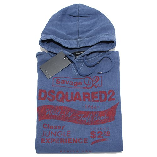 97855 felpa DSQUARED D2 maglia uomo sweatshirt men [XS]