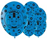 Pack of 6 Thomas The Tank Engine Latex Balloons