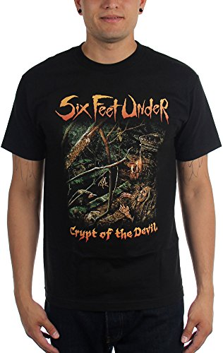 Six Feet Under - Top - Uomo Black Medium