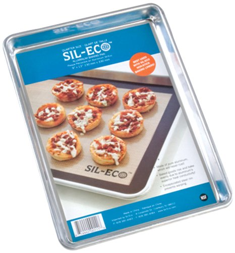 Sil-Eco Quarter Size Aluminum Baking Pan, 9 by 13-Inch