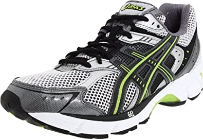 ASICS Men's GEL-Equation 5 Running Shoe,Titanium/Black/Lime,8 M US
