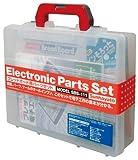 サンハヤト ブレッドボードパーツセット SBS-111 書籍、パーツ、ツールのオールインワン このセットで電子工作の基本がわかる