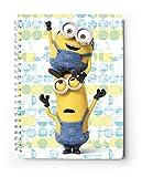 Grupo Erik  - Cuaderno a5 tapa dura minions (diario / cuaderno)