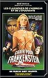 echange, troc Chair pour frankenstein [VHS]