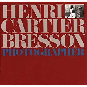 Henri Cartier-Bresson: Photographer, bookcover