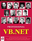 img - for Professional VB.NET book / textbook / text book