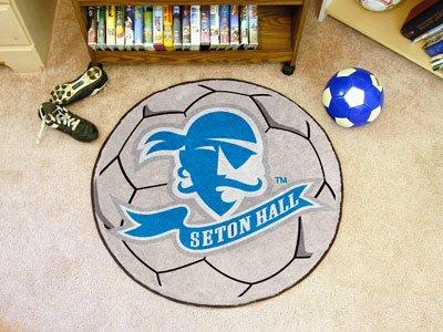 Seton Hall University Soccer Ball Rug