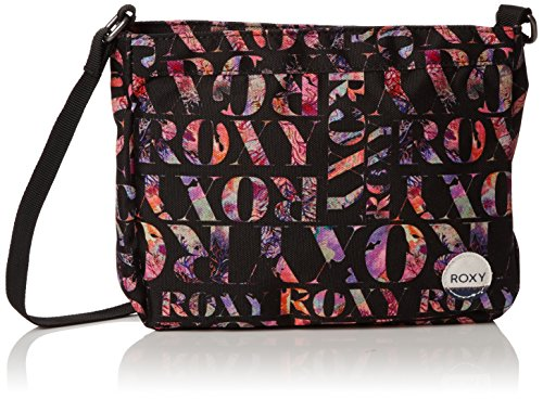 Roxy Sunday Smile, Borsa a tracolla donna , Nero (Noir (Kvj7)), Taille Unique