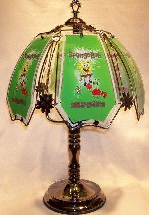 SpongeBob SquarePants Black Chrome Touch Lamp - Lamp Bases