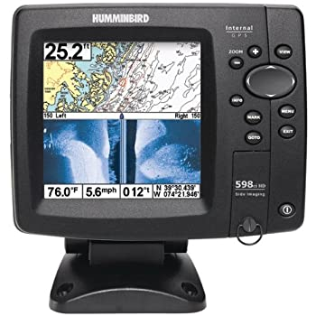 Humminbird 500 Series 598Ci HD SI Combo GPS-Sonar DualBeam PLUS and Down Imaging fishfinder with Side Imaging.  Thanks to best-in-class HD screen resolution, incredibly clear Down Imaging plus dynamic SwitchFire Sonar, you won't miss a thing.  Timber...