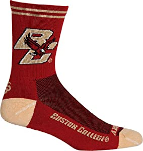 Buy NCAA Boston College Eagles Cycling Running Socks by Adrenaline Promotions