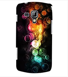 ColourCraft Abstract Image Design Back Case Cover for SAMSUNG GALAXY S DUOS 2 S7582