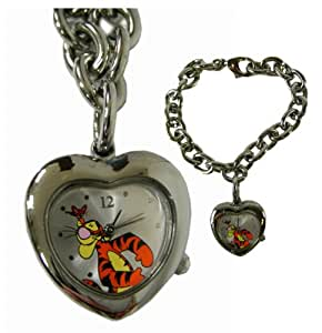 Tigger Heart Shaped Pennant Bracelet Watch - Winnie the Pooh Watch
