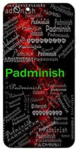 Padminish (Lord Of Lotuses; Sun) Name & Sign Printed All over customize & Personalized!! Protective back cover for your Smart Phone : Samsung Galaxy E5