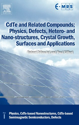 Cdte And Related Compounds; Physics, Defects, Hetero- And Nano-Structures, Crystal Growth, Surfaces And Applications: Physics, Cdte-Based ... (European Materials Research Society Series)