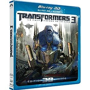 Transformers 3 - La face cachée de la Lune [Combo Blu-ray 3D + Blu-ray 2D]