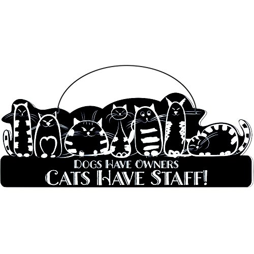 Cool Cats Cat-Gang Shaped Laser-Etched 3-In-1 Plaques Ver1 Have Staff Black front-283234