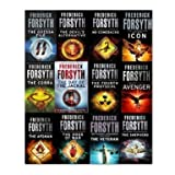 Frederick Forsyth Frederick Forsyth Collection 12 Books Set,(No Comebacks, Avenger, the Afghan, the Day of the Jackal, the Dogs of War, the Veteran, the Fourth Protocol, the Odessa File, the Cobra Icon and the Devil's Alternative and the Shepherd)