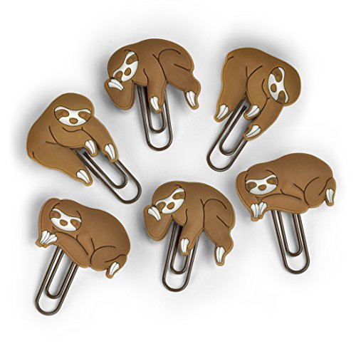 Fred & Friends SLOTHS ON A VINE Picture Hangers, Set of 6