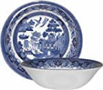Churchill Blue Willow Cereal Bowl 15....
