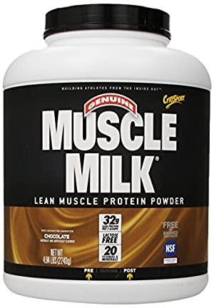 CytoSport Muscle Milk Lean Muscle Protein Powder, Chocolate
