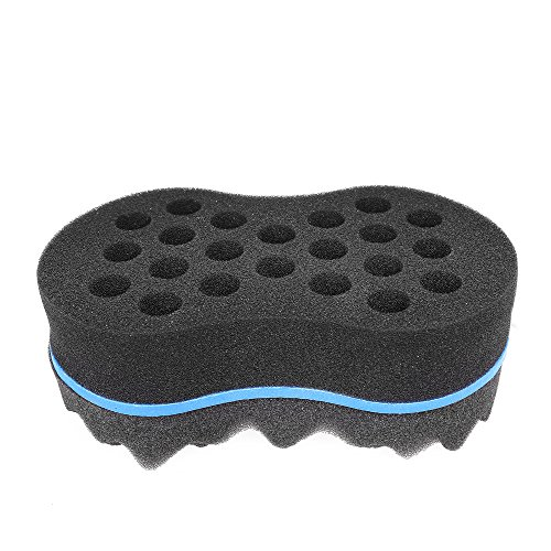 Hotrose® Double Wave Barber Hair Brush Sponge Dread Afro (Circular Brush Hair compare prices)