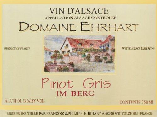 2011 Ehrhart Pinot Gris, Im Berg 750 Ml