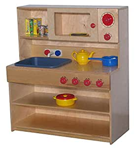 Combo kitchen set for kids infant toys games for Kitchen set games