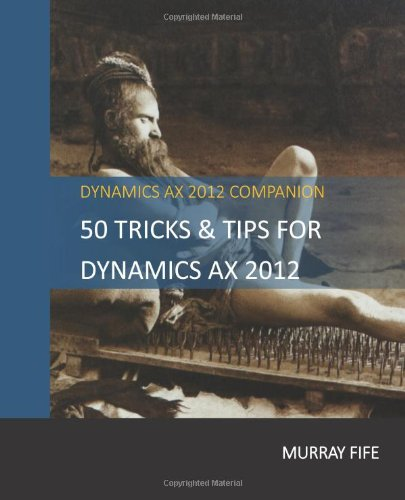 Quickly Update Data Through X++ Scripts   Dynamics AX Tip Of The Day
