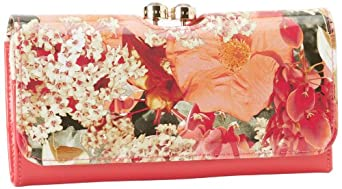 Ted Baker Hoopin Wallet,Pink,One Size