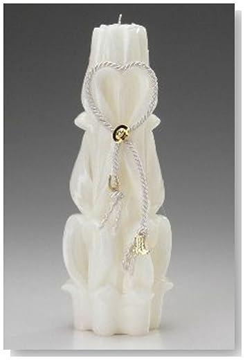 Western Wedding Decorated Unity Bridal Candle