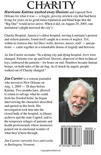 Charity: The Heroic and Heartbreaking Story of Charity Hospital in Hurricane Katrina