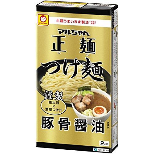マルちゃん正麺 つけ麺 豚骨醤油 (2人前)238g×2箱