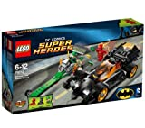 LEGO Super Heroes - DC Comics - Batman: The Riddler Chase - 76012 -Pursue The Riddler's Dragster and call in The Flash to catch him!The Riddler has robbed the Gotham City bank and is getting away in his ultra-fast dragster (76012)