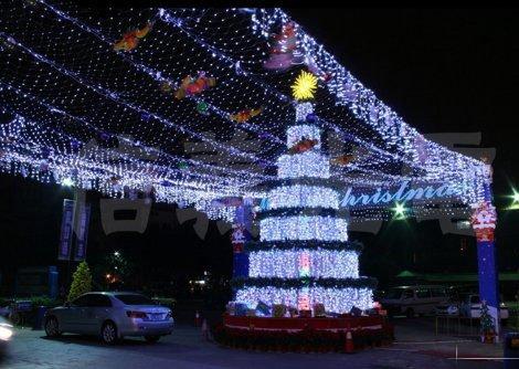 Greatlight White 2Mx3M 210Led Net String Light Fairy Lamp For Christmas Wedding Garden Decoration 220V Us Plug