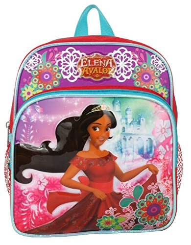 "Disney Princess Elena of Avalor Mini Toddler 10"" Backpack"