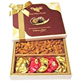 Chocholik Dryfruits Gift Box - Tempting Rocks Chocolates With Almonds - Gifts For Diwali