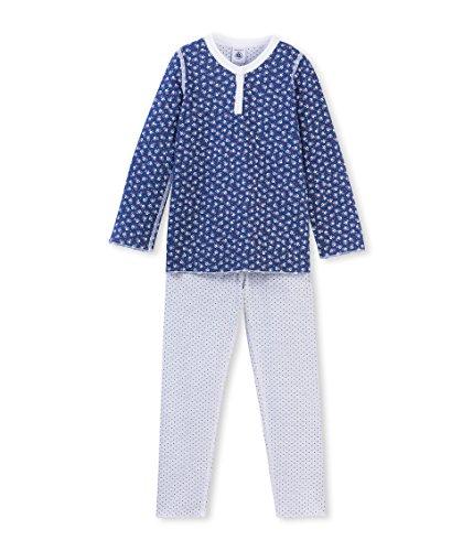 Petit Bateau Benelux-Camicia da notte premaman Bambina, Multicolore (Major/Multicolore), 12 anni