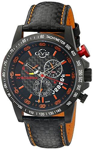 GV2-by-Gevril-Mens-9902-Scuderia-Analog-Display-Swiss-Quartz-Black-Watch