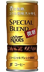 ルーツ スペシャルブレンド微糖 缶 185g×30本