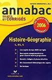echange, troc Jacques Asklund, Bruno Descamps, Michel Marc - Histoire-Géographie L, ES, S
