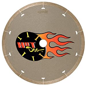 "MK Diamond 158434 7"" MK-225 Hot Dog Premium Thin-Rim Blade"