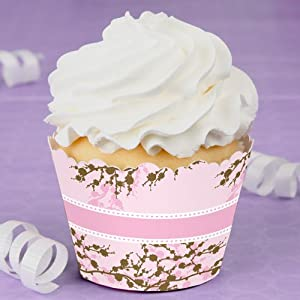 cherry blossom cupcake decorations