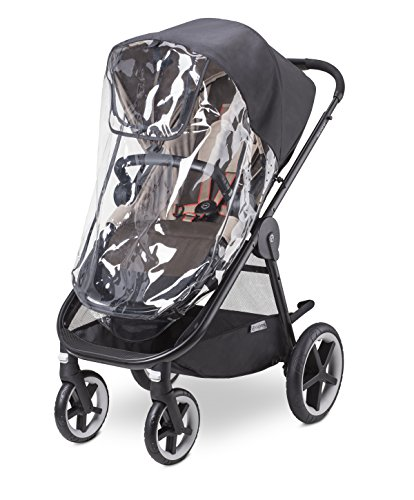 CYBEX Iris M- Air and Balios M Stroller/Cot Rain Cover, Black
