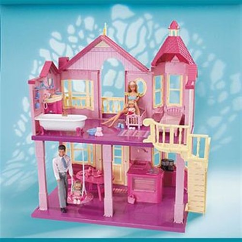 mattel r4186 0 barbie glam haus. Black Bedroom Furniture Sets. Home Design Ideas