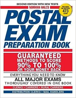 Norman Hall's Postal Exam Preparation Book: Norman Hall: 9781593375751 ...