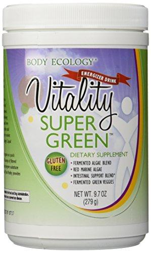 Body Ecology Vitality SuperGreen Powder 9.7 Oz.