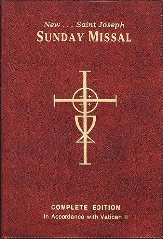 The New Saint Joseph Sunday Missal, Complete Edition (Red Vinyl)