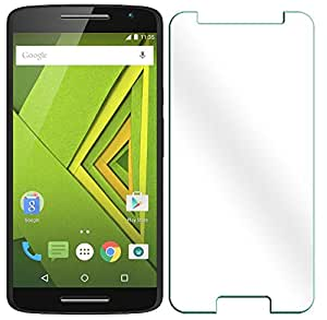 Moto X Play Tempered Glass screen protector by Gursid - 2.5D curved ARC Edge