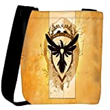 Snoogg Coat Of Arms With The Bird Designer Womens Carry Around Cross Body Tote Handbag Sling Bags